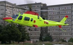 Incidente a Marianopoli, mietitrebbia si ribalta: 46enne in gravi condizioni