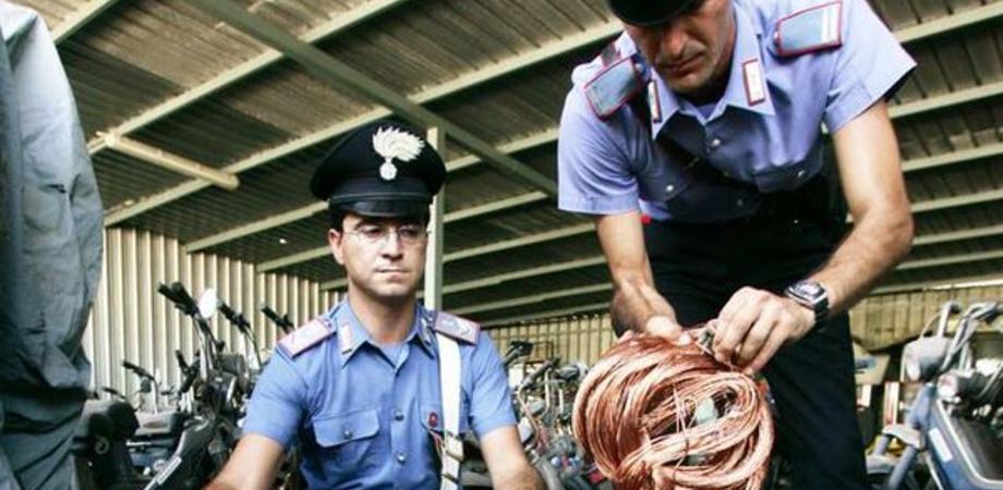 Arrestati a San Cataldo i predatori del rame. Romeni tentano furto sulla linea ferroviaria