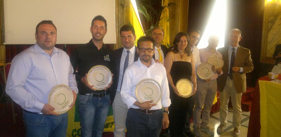 L'orto urbano realizzato dal comitato a San Luca premiato dalla Coldiretti