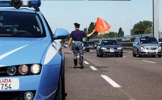 Caltanissetta, rompe lo specchietto dell'auto della Polstrada e fugge: automobilista inseguito e denunciato