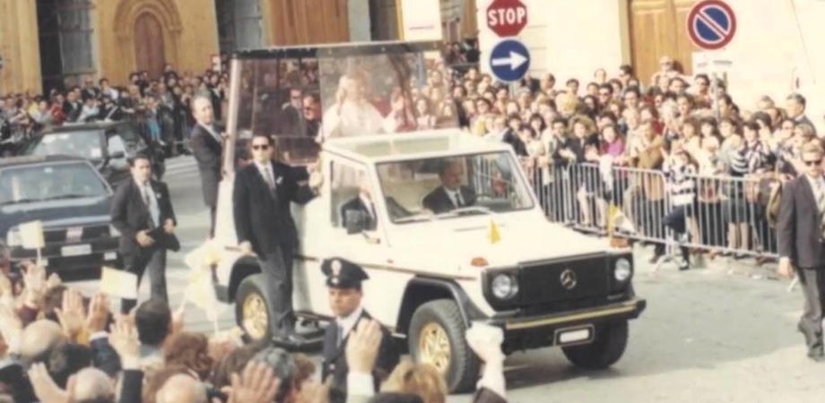 Vent'anni fa Papa Wojtyla a Caltanissetta: giovedì si presenta un libro