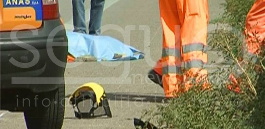 Resuttano: auto invade corsia e travolge operai Anas: uno è morto