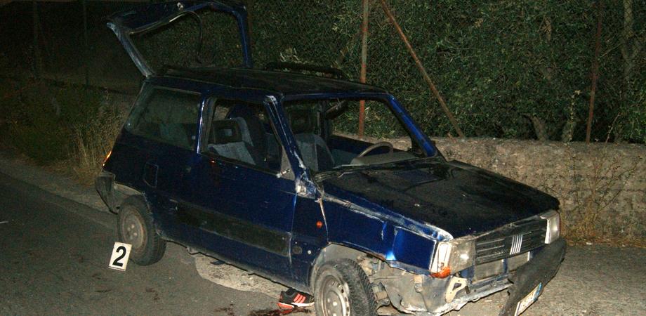 Incidente mortale a Mussomeli, il conducente aveva bevuto: indagato per omicidio colposo
