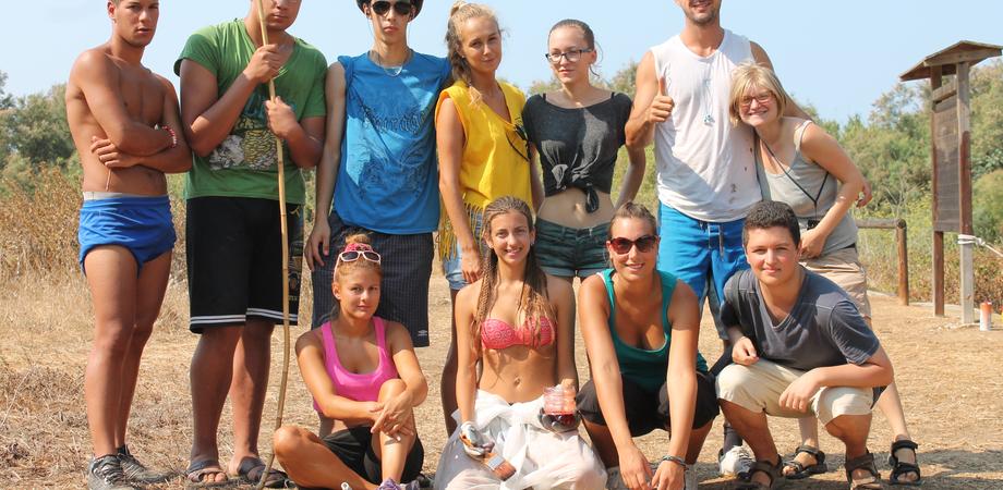 Volontariato e ambiente: tanti giovani europei si incontrano alla Riserva di Gela