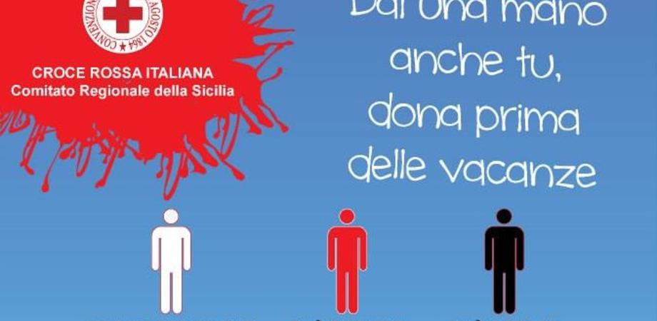 """""""Dona sangue prima di andare in vacanza"""", la CRI avvia campagna di donazioni"""