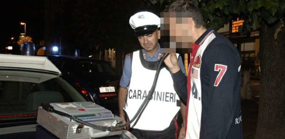 No alcol al volante, quattro patenti ritirate dai carabinieri a Caltanissetta