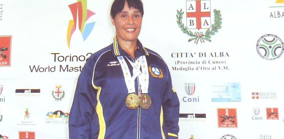 Karate: nono oro mondiale per la nissena Maria Russica. Trionfo al WMG di Torino