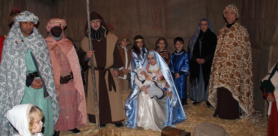 Presepe vivente al quartiere Angeli. Stasera nuova rappresentazione della nascita di Gesù