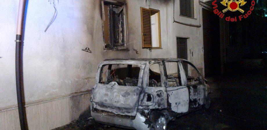 Gela, incendiata auto a imprenditore che denunciò il racket