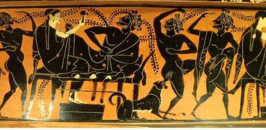 """Banchetto e danza, così """"Alchimia"""" fa rivivere il rito del simposio greco"""