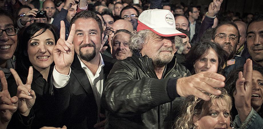 """Trionfo M5S, Giancarlo Cancelleri sogna da presidente: """"Pronti per la Sicilia pentastellata"""""""