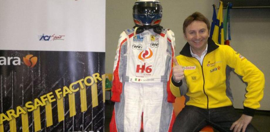 Piloti F1 in cattedra insegnano ai giovani la sicurezza stradale. Fa tappa a Caltanissetta il Sara Safe Factor 2013