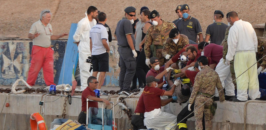 """Napolitano agli eroi di Lampedusa: """"Questo 4 novembre è per voi"""""""