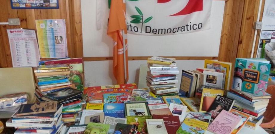 DoniAmo la cultura: i giovani democratici raccolgono oltre 200 libri per associazioni e case famiglia