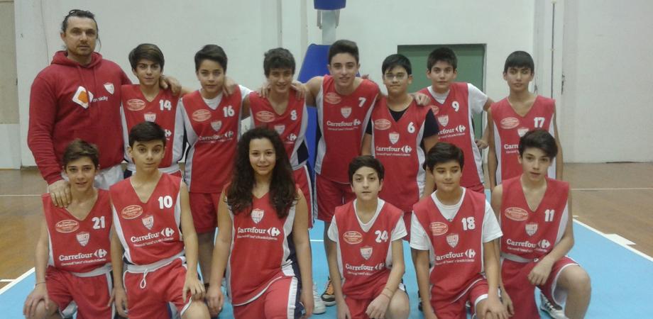 Basket under 13: l'Invicta 93Cento vince big match contro Gela