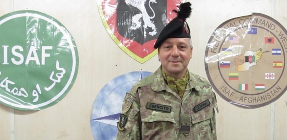 """""""Ecco cosa mi ha lasciato l'Afghanistan"""". Missione finita, il maresciallo Sentina torna a Niscemi"""