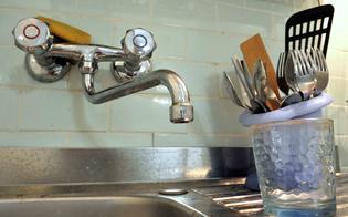 Acqua torbida: stop alla distribuzione idrica a Caltanissetta e altri quattro comuni