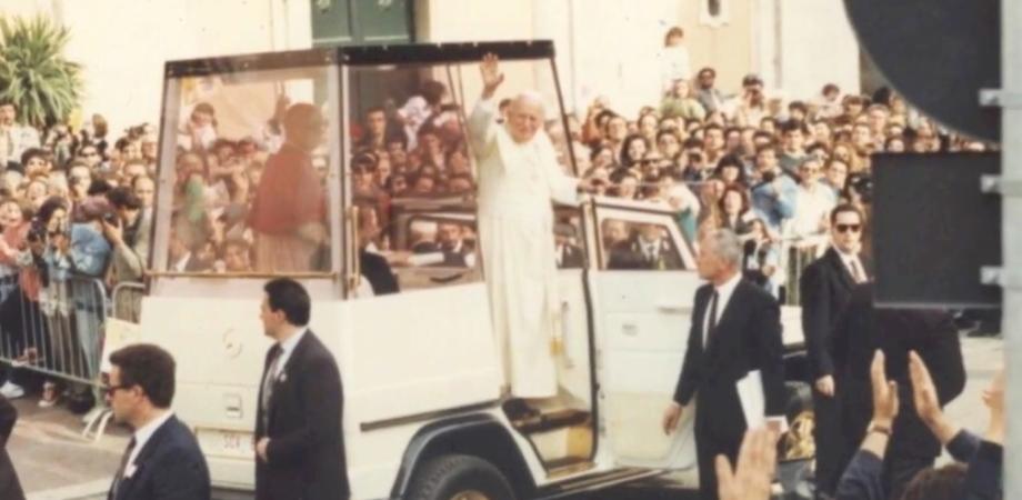 Canonizzazione di Papa Giovanni Paolo II: il ricordo della visita di Wojtyla a Caltanissetta