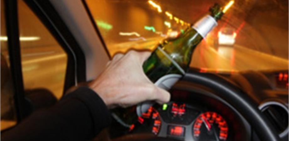 Al volante dopo aver bevuto troppo: un nisseno denunciato dai carabinieri