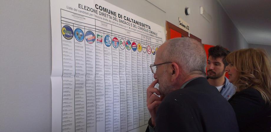 Tutti i voti dei candidati al consiglio comunale di San Cataldo