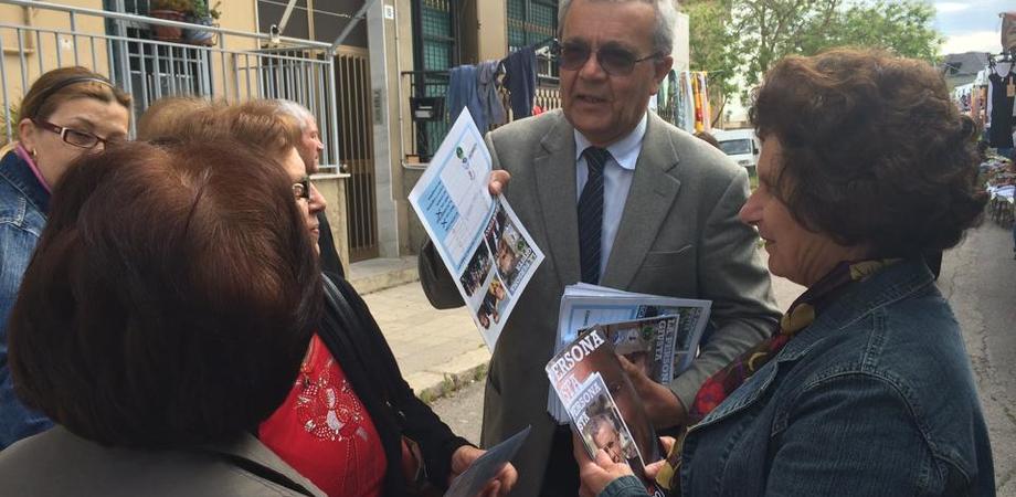 """San Cataldo. L'urbanista, il medico e il critico. Peppe Scarantino presenta la sua """"squadra"""""""