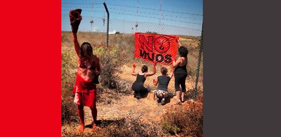 No Muos: inizio pacifico della protesta alla base USA di Niscemi