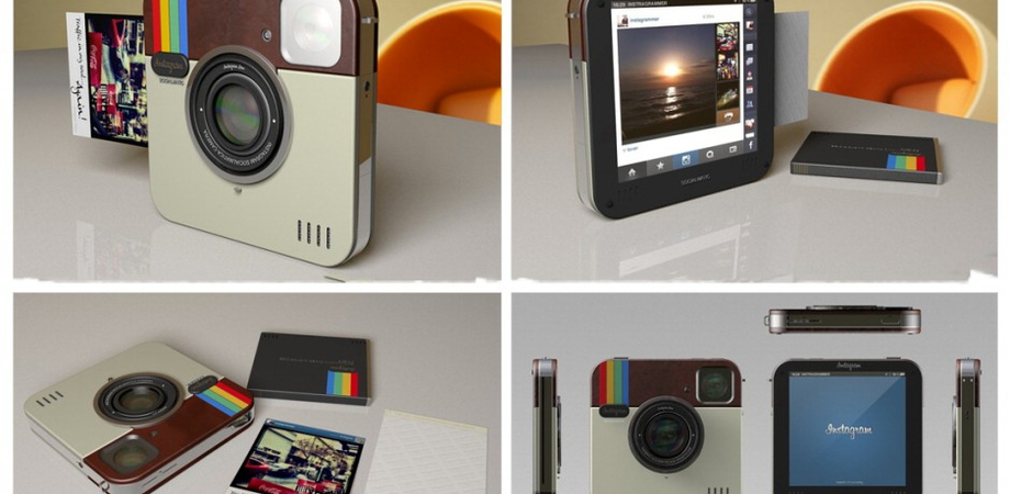 La vecchia Polaroid diventa ''Socialmatic'', si cambia nel nome di Instagram