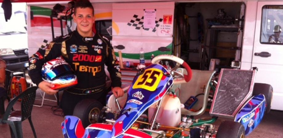 Alessio Pollara vince il VII Gran Premio Karting Città di Cefalù