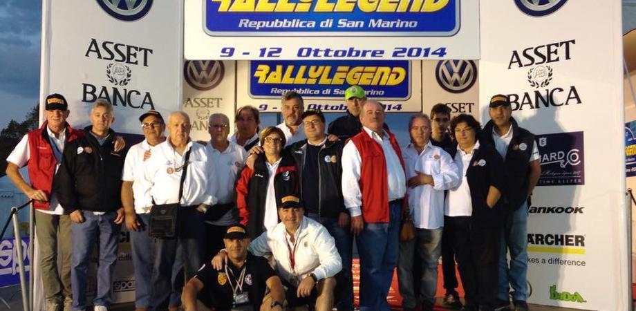 Rally Legend 2014, ufficiali di gara nisseni Aci-Csai protagonisti a San Marino