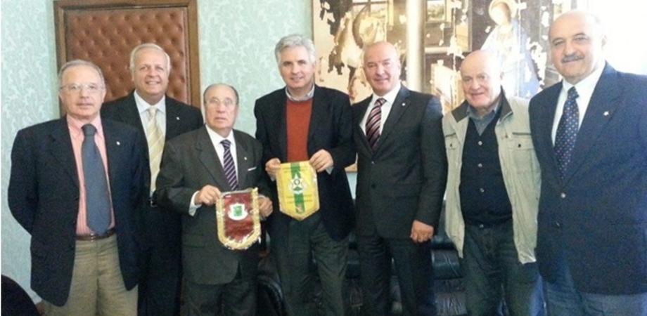 San Cataldo: Maestri del Lavoro in visita dal Sindaco Modaffari