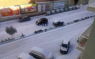 Prevenzione del rischio neve, la Prefettura di Caltanissetta approva il piano delle attività invernali