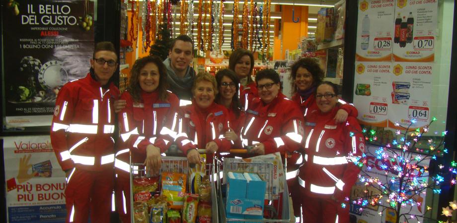 Resuttano: la Croce Rossa si prepara al Natale