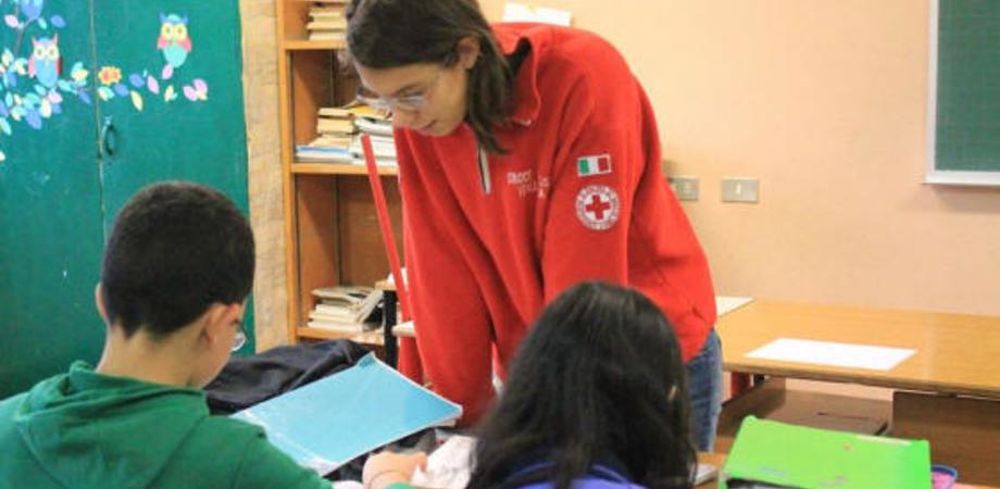 Doposcuola con i volontari Cri. Lezioni nelle chiese San Luca e San Domenico