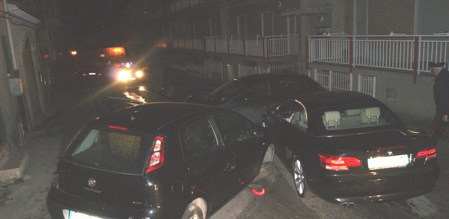 """Sabato sera di """"sbattimento"""" a Sommatino. Tre auto si scontrano, i conducenti risultati tutti ubriachi"""