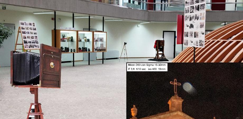 Sabato inaugurazione della mostra temporanea delle macchine fotografiche di Vincenzo Marcé