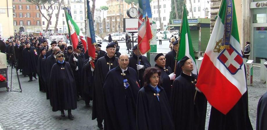 Guardie d'onore del Pantheon, delegazione nissena a Roma per le celebrazioni del 137° anniversario