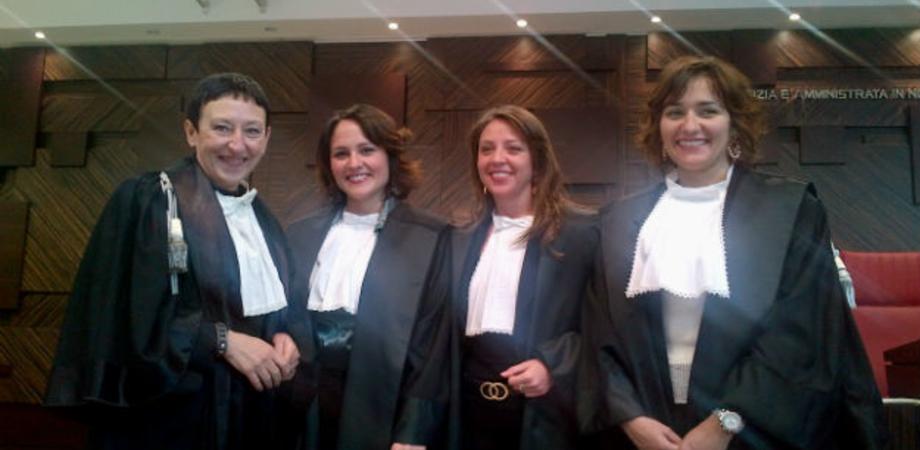 Il Tribunale di Gela si tinge di rosa: insediate tre magistrati donne
