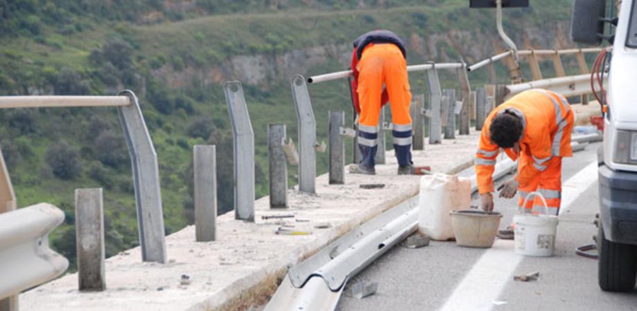SS 640, prosegue la demolizione del vecchio viadotto Salso: modifiche alla circolazione