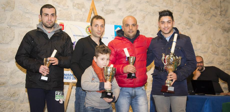 Campionato sociale 2014, l'Aci di Caltanissetta premia i piloti migliori LE FOTO