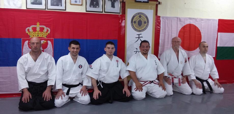 Il Maestro Torregrossa insegna il Tenshindo in Serbia