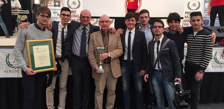 Web tv, Telemottura vince l'Oscar del Giornalismo. Gli studenti di Caltanissetta sbaragliano 2mila scuole d'Italia