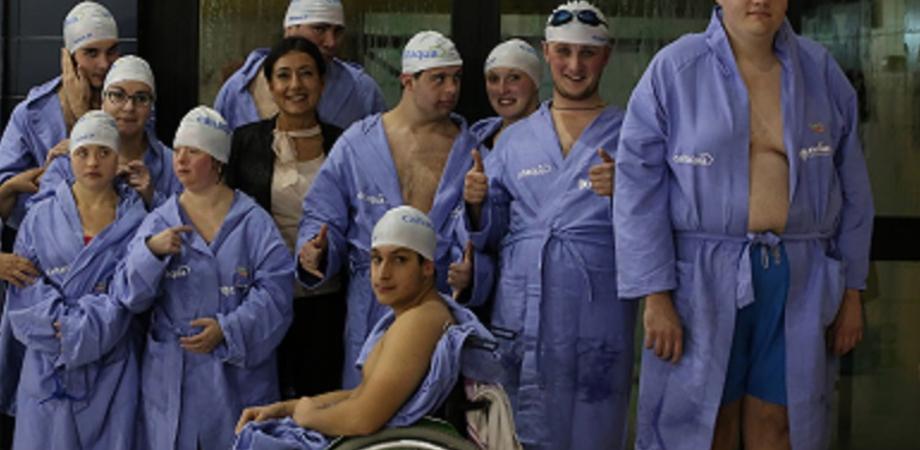 Campionato Regionale per diversamente abili: primo posto alla Swimming Caltanissetta
