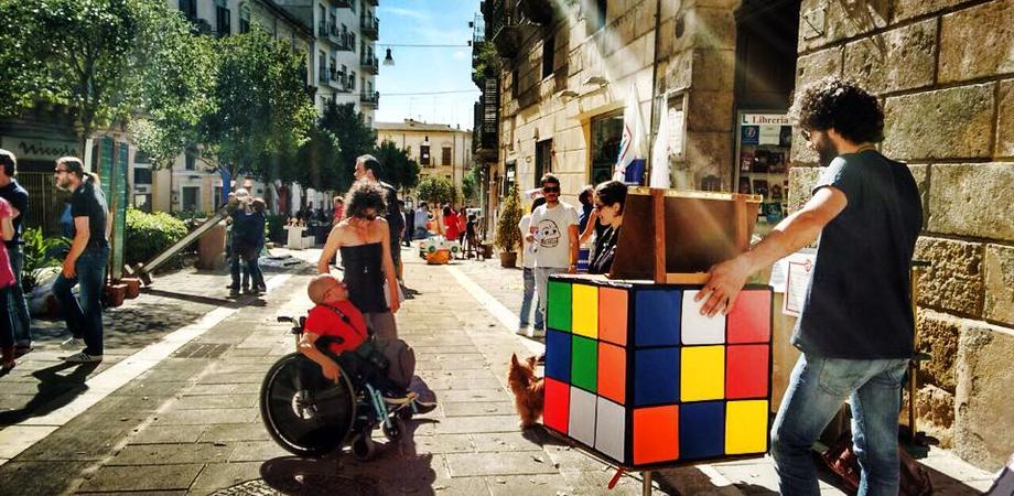Ritorna #PiazzAcolori, il 7 novembre il centro storico diventa laboratorio d'arte