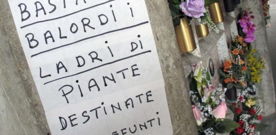 """Fiori trafugati dalle tombe, decine di casi al cimitero Angeli di Caltanissetta. La rabbia dei familiari: """"Nessun controllo"""""""