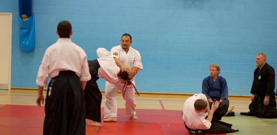 """Il Tenshindo nella """"via del samurai"""": il Maestro Torregrossa docente allo stage di arti marziali in Inghilterra"""