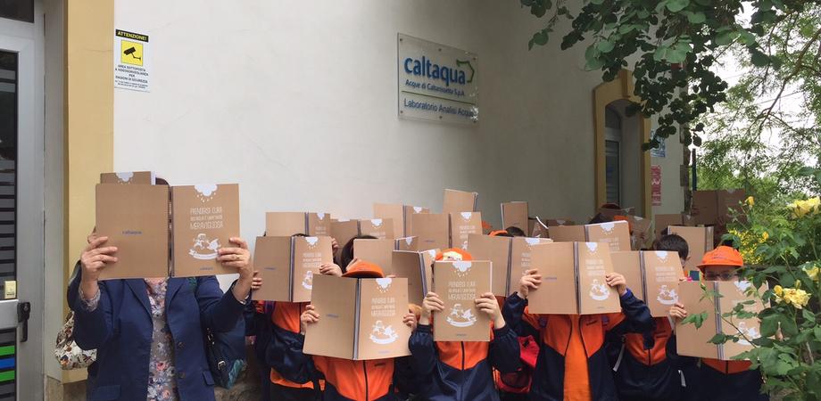 Caltaqua Campus: oltre 400 scolari in visita al polo - laboratorio