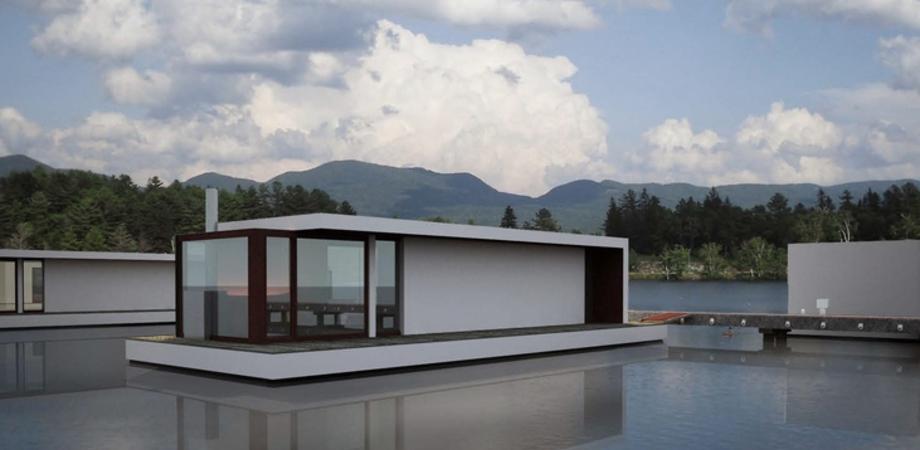 Le case galleggianti. Il progetto di un giovane architetto di San Cataldo bandiera d'Italia alla Triennale di Sofia