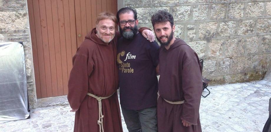 """""""Un santo senza parole"""", la pellicola made in Caltanissetta. La storia di fra' Felice, sul set attori di prestigio ed emergenti"""