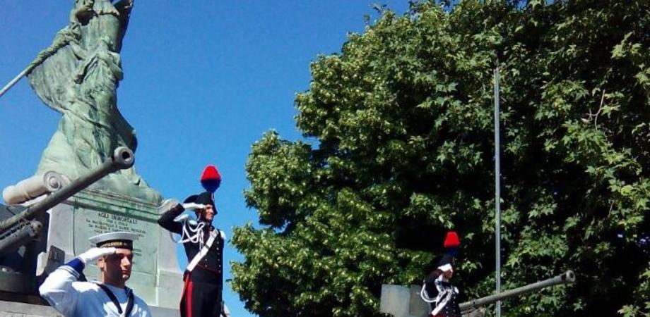 Festa della Repubblica a Caltanissetta, cerimonia in ricordo dei caduti e inno di Mameli per le vie del centro