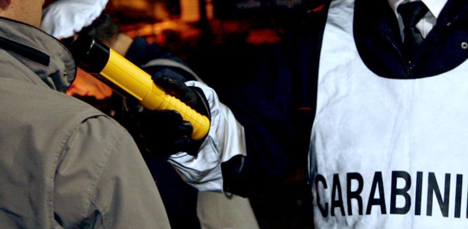 Strade sicure a Caltanissetta. Troppo alcol nel sangue, giovane denunciato dai carabinieri per guida in stato d'ebbrezza